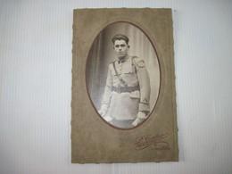 Photo Ancienne  Militaire Homme P. CARTIER VINCENNES - Uniforms