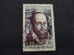 """60-69- Timbre Oblitéré N° 1513   """" St François De Salles    """"  0.15 - Used Stamps"""