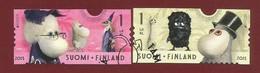 Finnland   2015   Mi.Nr. 2376 / 2377 , EUROPA CEPT - Historisches Spielzeug - Selbstklebend - Gestempelt / Used / (o) - Europa-CEPT