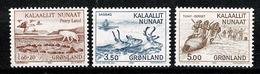 Groenland 1981 Yv. 118**, 119/120**   Mi 130**, 131/132**,  MNH Cote Yv € 5,00 - Groenland