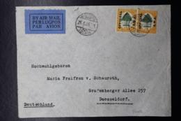 South West Africa: Cover Windhoek Official O12 In Pair 26-8-1935 To Dusseldorf Germany - Südwestafrika (1923-1990)