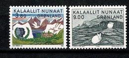Groenland 1985 Yv. 148/149**   Mi 160/161**,  MNH Cote Yv € 6,25 - Groenland