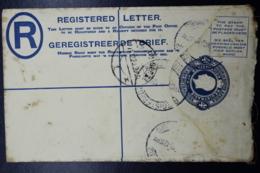 South Africa: Registered Cover Johannesburg 20-11-1923  HG 6 - Briefe U. Dokumente