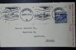 South Africa: Censored Cover Johannesburg -> Apeldoorn Holland, 27-3-1940 Sg 59 - Briefe U. Dokumente