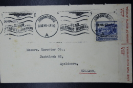 South Africa: Censored Cover Johannesburg -> Apeldoorn Holland, 27-3-1940 Sg 59 - Zuid-Afrika (...-1961)