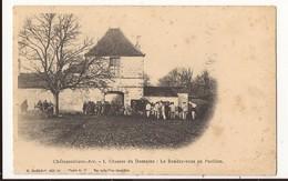 Haute Marne Châteauvillain-arc Chasses Du Domaine Le Rendez Vous Au Pavillon - Francia
