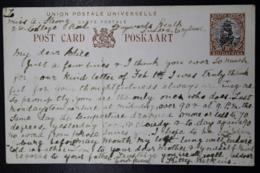 South Africa: Postcard P9 Natal Drakensberg -> London - Zuid-Afrika (...-1961)