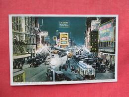 New York > New York City > Broadway   At Night  Ref 3242 - Broadway