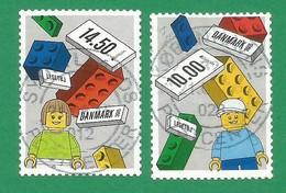 Dänemark  2015   Mi.Nr. 1810 / 1811 , EUROPA CEPT - Historisches Spielzeug - Selbstklebend - Gestempelt / Used / (o) - Europa-CEPT