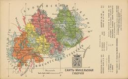 61-1296 Suomi Finland Finnland Map - Finland