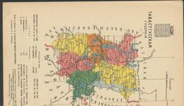 61-1301 Suomi Finland Finnland Map - Finland