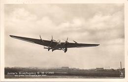 Aviation - Avion Junkers G 38 D 2000 - 1919-1938: Entre Guerres