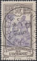 Océanie 1913-1930 - Oblitération De Papeete Sur N° 55 (YT) N° 73 (AM). - Oceania (1892-1958)