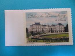 TIMBRE ,AUTOADHESIFS , No: 730A , PALAIS Du LUXEMBOURG , Venant De Feuille Support Blanc ,XX, Timbre En Bon état - Francia