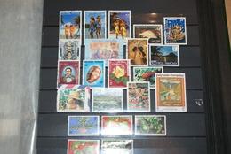 Lot Timbres Polynésie Oblitéres Sauf Numéro 303 Et 263 (neufs) - Collections, Lots & Séries