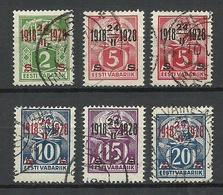 Estland Estonia 1928 Michel 68 - 72 O - Estonia