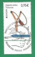 Andorra ( Französische Post ) 2015   Mi.Nr. 788  , EUROPA CEPT - Historisches Spielzeug  - Gestempelt / Used / (o) - Europa-CEPT