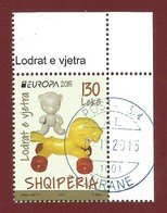 Albanien  2015   Mi.Nr. 3486  , EUROPA CEPT - Historisches Spielzeug  - Gestempelt / Used / (o) - Europa-CEPT