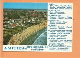 CPM - AMITIES DE BRETIGNOLLES SUR MER - Bretignolles Sur Mer