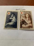 France Red Cross 1954 Mnh - France