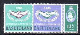 CI626 - BASUTOLAND 1965 , 100mo Della UIT  ***  (2380A) - Basutoland (1933-1966)