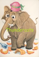 CPSM CARTE A SYSTEME DES YEUX QUI BOUGENT  SYSTEM CARD MOVING EYES  SAEMEE ELEPHANT   ( DISNEY ? ) - A Systèmes