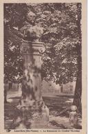 CPA Laurière - Le Monument Du Général Thoumas - Lauriere