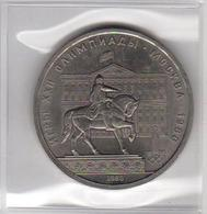 USSR 1980  1 Ruble XXII Olympic Games Moscow Coin In Plastic As Per Scan - Russia
