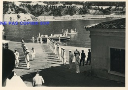 Photo Villefranche Sur Mer Alpes-Maritimes équipage Marins Marin 1951 - Places