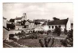 77 Fontaine Le Port Salle Des Fetes Groupe Scolaire Eglise CPSM PF Cachet Fontaine Le Port 1961 - France