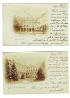 MEURTHE ET MOSELLE 54 NANCY Pensionnat Dominicaines 2 Cartes Photos En 1900 - Nancy