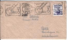 Austria - Österreich Post - Briefmarken - 1945-60 Briefe U. Dokumente