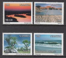 1998 Namibia World Environment Day Tourism Trees Complete Set Of 4 MNH - Namibia (1990- ...)