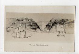 SAINTE HELENE - CARTE PHOTO - Vue De Sainte Hélène - Sainte-Hélène