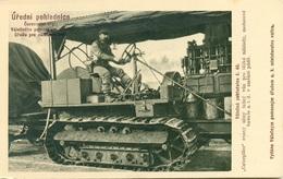 Rotes Kreuz N. 46 Caterpiller - Guerra 1914-18