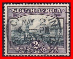 AFRICA (REPUBLICA SUAFRICANA ) SELLO  AÑO 1930 -1945 LOCAL MOTIVES - COUNTRY NAME IN ENGLISH OR AFRIKAANS - Sellos