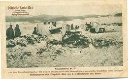 Rotes Kreuz N. 47 Karpathenkämpfen Mit Weissen Decken Maskierte österreichisch-ungarische Geschütze Beim Duklapass - Guerra 1914-18