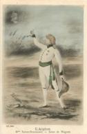 L'AIGLON  SARAH BERNHARDT SCENE DE WAGRAM - Artistes