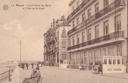 Heist, Heyst Aan Zee, Grand Hotel Des Bains Et Villas Sur La Digue (pk57896) - Heist