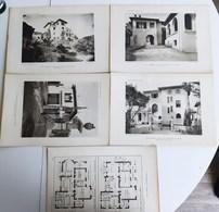 "SAINT-RAPHAËL VILLA "" ELBERON "" A Mr WEEKS VAR ARCHITECTURE PLAN ARCHITECTE RENE GARDE GRANDE PLANCHE 32 X 22 CM - Saint-Raphaël"