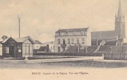 Heist, Heyst Aan Zee, Square De La Digue, Vue Sur L'Eglise (pk57899) - Heist