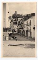 Espagne --IBIZA --1956--Rue Et église Au Second Plan (petite Animation) Photo  8.5cm X 13.5cm - Ibiza