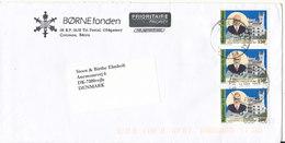 Benin Cover Börnefonden Sent To Denmark 2003 - Benin - Dahomey (1960-...)