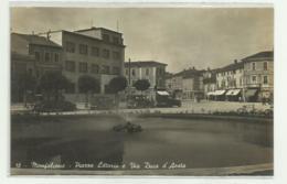 MONFALCONE - PIAZZA LITTORIO E VIA DUCA D'AOSTA  - NV FP - Gorizia