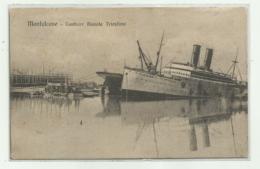 MONFALCONE - CANTIERE NAVALE TRIESTINO 1916 VIAGGIATA FP - Gorizia