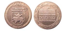 01352 GETTONE TOKEN JETON POLAND FESTIVAL LOCAL SPALA TOMASZOW MAZOWTECKI - Jetons & Médailles