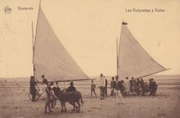 Westende Bains, Les Voiturettes A Voiles, Zeilwagens Char A Voiles (pk57938) - Westende