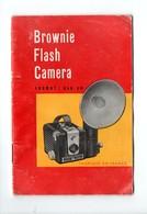 PHOTOGRAPHIE . MANUEL POUR BROWNIE FLASH CAMERA . KODAK - Réf. N°21208 - - Material Y Accesorios