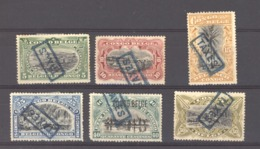 Belgique  -  Congo  -  Taxes  :  Yv  31-36  (*) - Postage Due: Mint/hinged Stamps