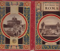 RICORDO DI ROMA PARTE II. SFM. CIRCA 1940s PHOTOSET SOUVENIR GRUSS AUS - BLEUP - Roma (Rome)